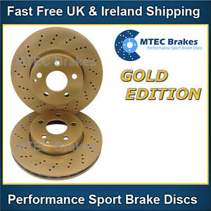 Fits Mercedes E-Class W211 E 240 Comline Front Vented Brake Discs /& Pad Kit