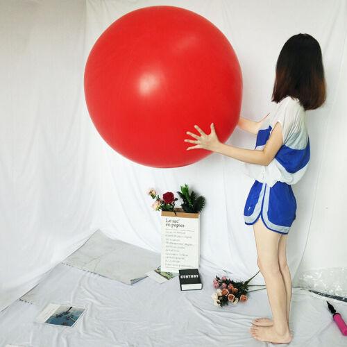 72 Riesige Jumbo Luftballons Riesen Latex Party Performance Deko Luftballon 1x