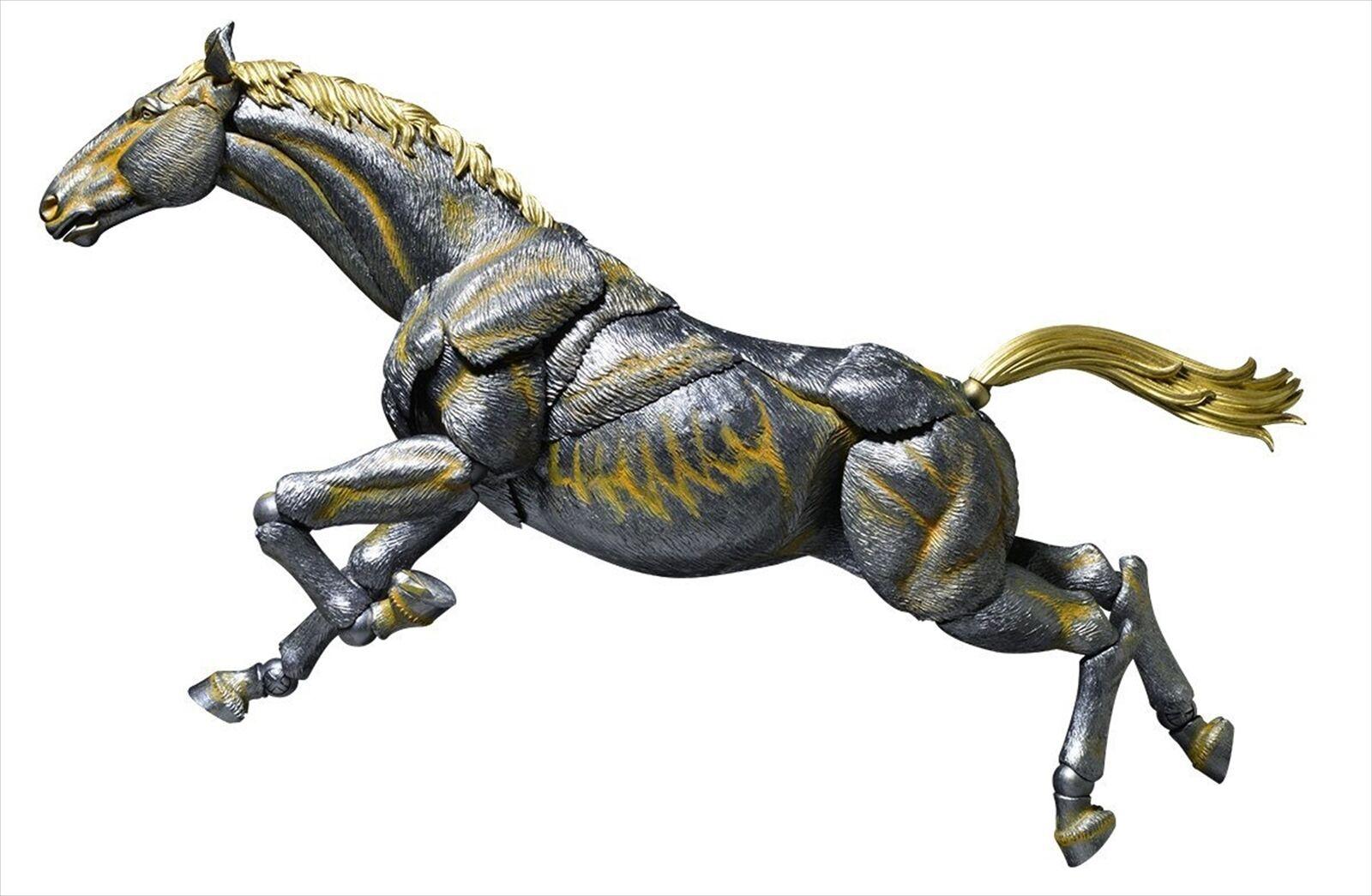 Kaiyodo Takeya Shiki Jizai Okimono KT-007 Horse Iron Ver. Action Figure