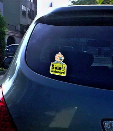 Baby on Board sticker decal window  sign Made in Usa child
