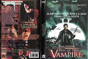 WAY OF THE VAMPIRE (2001) dvd ex noleggio - Italia - WAY OF THE VAMPIRE (2001) dvd ex noleggio - Italia
