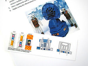 CUSTOM DIE CUT REPLACEMENT STICKERS For STAR WARS RLC RADAR LASER - Star wars custom die cut stickers