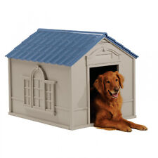 Insulated Dog Palace With Floor Heater For Large Dogs House
