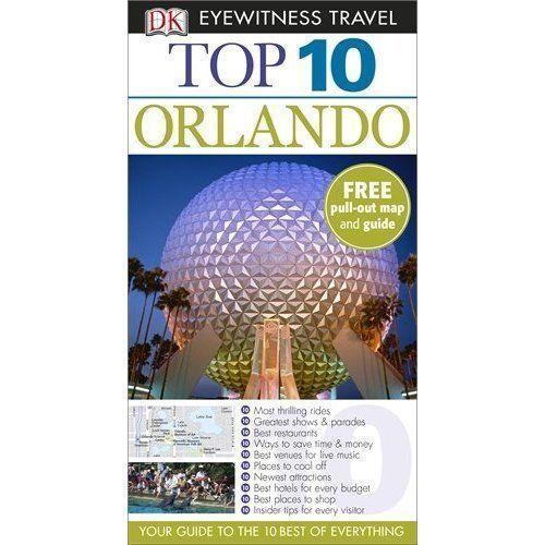 """AS NEW"" DK Eyewitness Top 10 Travel Guide: Orlando (DK Eyewitness Travel Guide)"