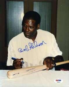 Bob-Gibson-Psa-Dna-Coa-Autograph-8x10-Original-Photo-Hand-Signed-Authentic