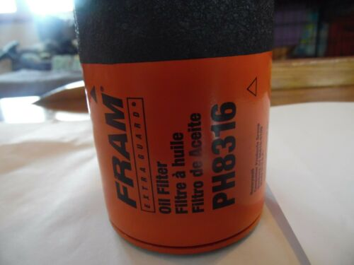 New FRAM EXTRAGUARD Oil Filter PH8316,Replaces Mobil M1-211ACDelcoPF2221Wix51315