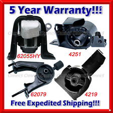 K714 Fit 2000-2005 Toyota Celica GT 1.8L Engine Motor & Trans Mount Set 4PCS