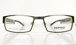 Nomad-2136N-GV041-Brille-Eyeglasses-Frame-Lunettes-Front-131mm