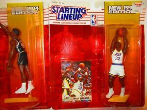 1994 STARTING LINEUP - SLU Karl Malone Utah Jazz #32 figure & card NBA  🔥