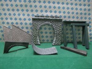 Vintage-H0-Parti-per-Realizzare-un-Ponte-2-Telai-in-legno-Kibri