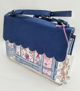 Navy Shop Cath Limited Bag Front Anniversary Crossbody Blue Kidston Edition 25 qT6fnfStRw