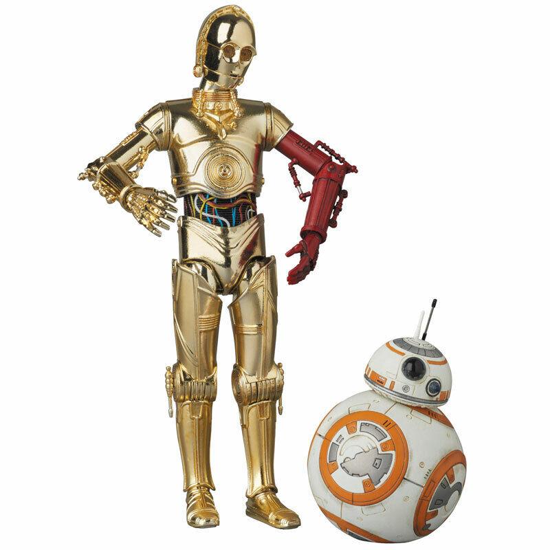 MAFEX  No.029 estrella guerras The Force Awakens C-3PO & BB-8 Medicom giocattolo Japan nuovo  saldi