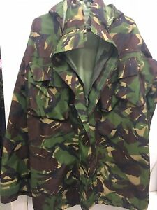 British Army Woodland Goretex DPM Jacket with hood 170//88