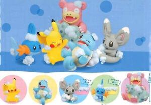 Pokemon-Mini-Figure-Set-034-Bubble-play-034-Japan