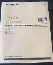 PARTS MANUAL FOR D5M & D5M LGP  CATERPILLAR TRACK - TYPE TRACTORS
