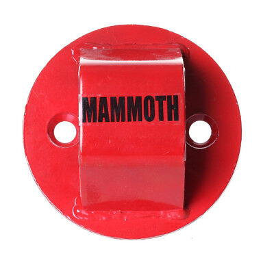 BIKEIT THATCHAM APPROVED MAMMOTH GROUND ANCHOR Motorbike Heavy-Duty Steel Wall Anchor for Safety /& Security