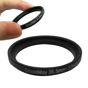 Step-Up-Lens-Filter-Metal-Ring-Adapter-35-5mm-to-37mm-35-5-37-Black-For-DSLR-Cam