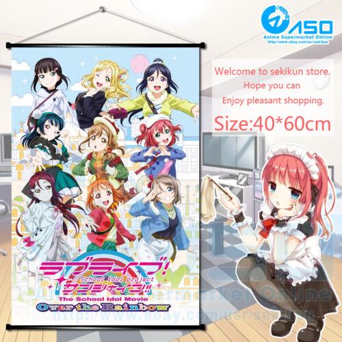 Anime Domestic Lover Domestic Girlfriend Wall Scroll Poster Home Decor 40*60cm