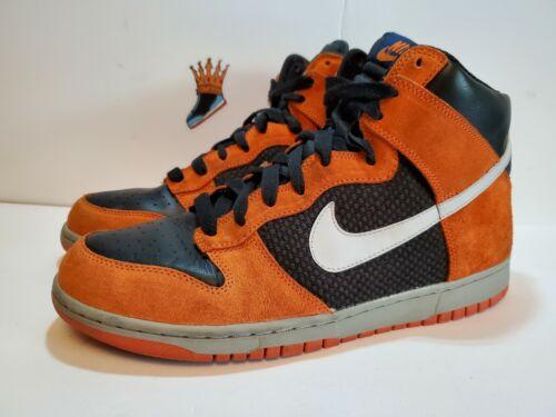 Nike Dunk High Hoop Orange 317982-001 Size 11