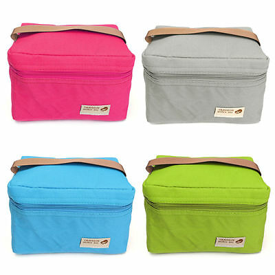 Thermal Cooler Insulated Lunch Box Storage Picnic Bag Tote Pouch Portable Travel