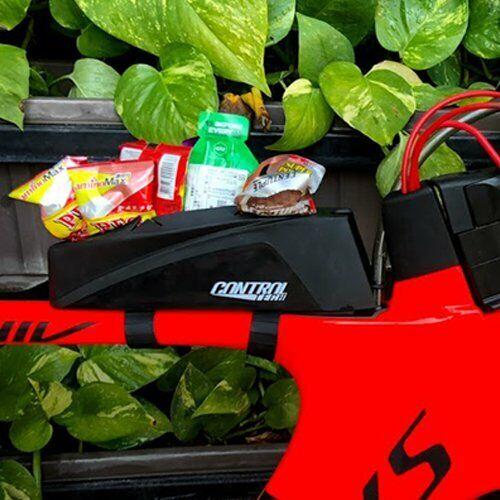 Controltech Triathlon TT Top Tube Storage Rubber Case Box w// Strap ATTK
