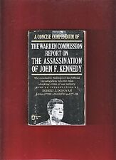 A Concise Compendium of The Warren Commission Report (Paperback 1964) Donovan