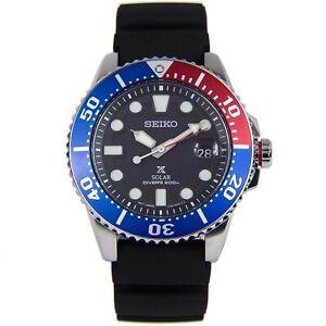 NEW-Seiko-Prospex-Men-039-s-Diver-039-s-Solar-Watch-SNE439P1