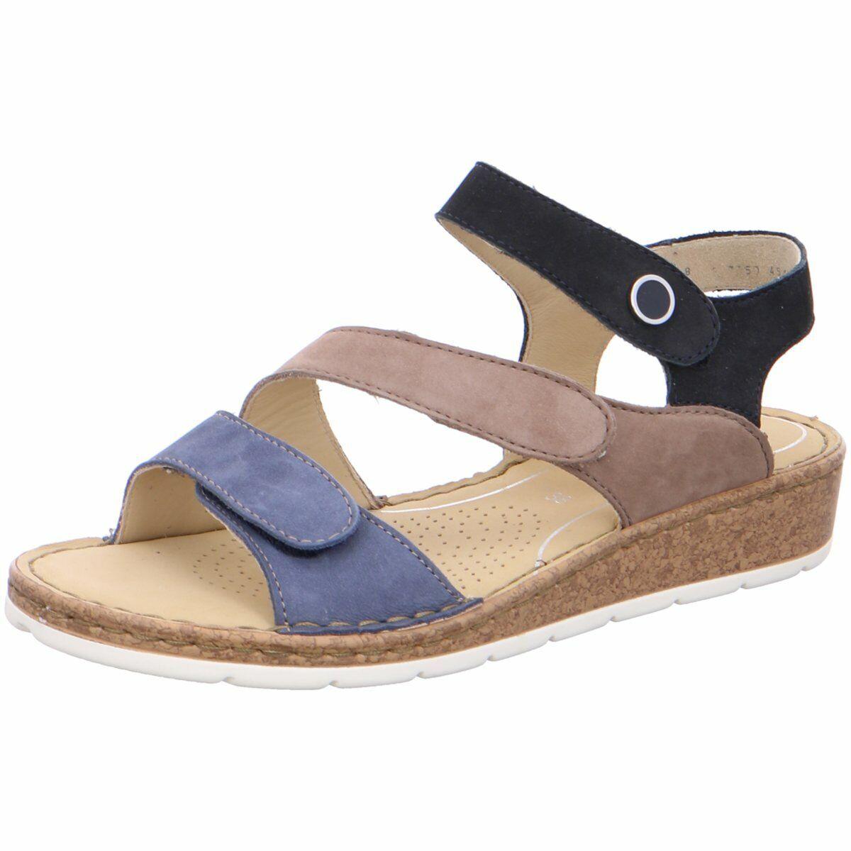 Ara Damen Sandaletten Positano Hi Soft 12-16117-05 blau 620660