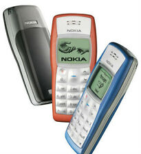 Nokia 1100 Mobile With Nokia Battery + Compatible Charger.