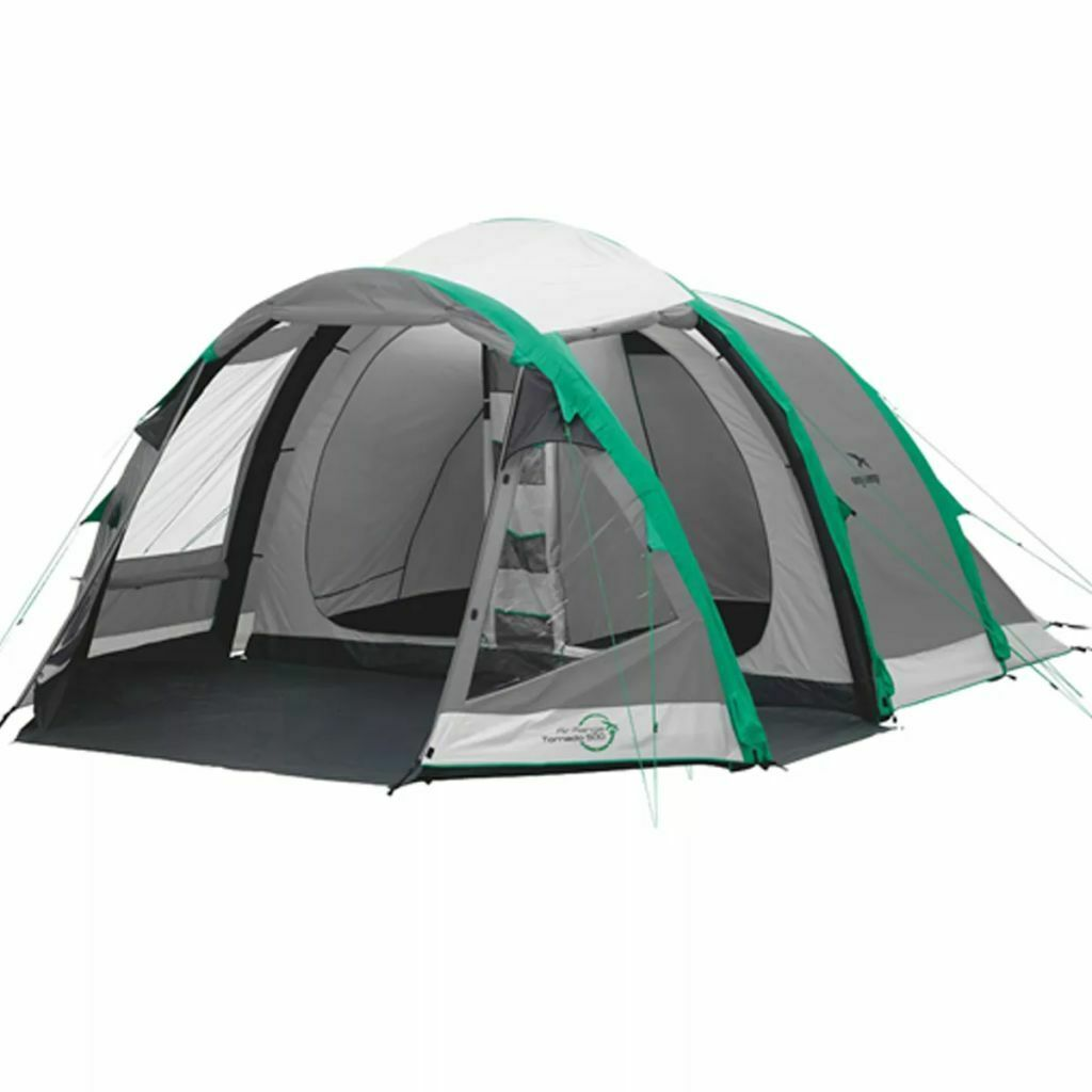 Easy Camp Tornado 500 Outdoor Travel Camping Tent for 5 Persons Waterproof