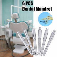 6 Pcs Dental Mandrel Soflex Flexi Disc Fit Ra Shank For Polishing Disk Soft G