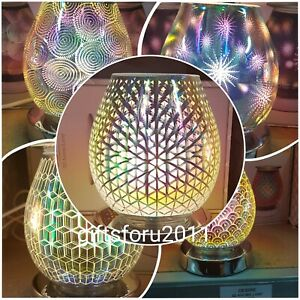 3d Aroma Touch Lamp Oil Burner Scented Wax Light Home Gift New 3 Settings Ebay