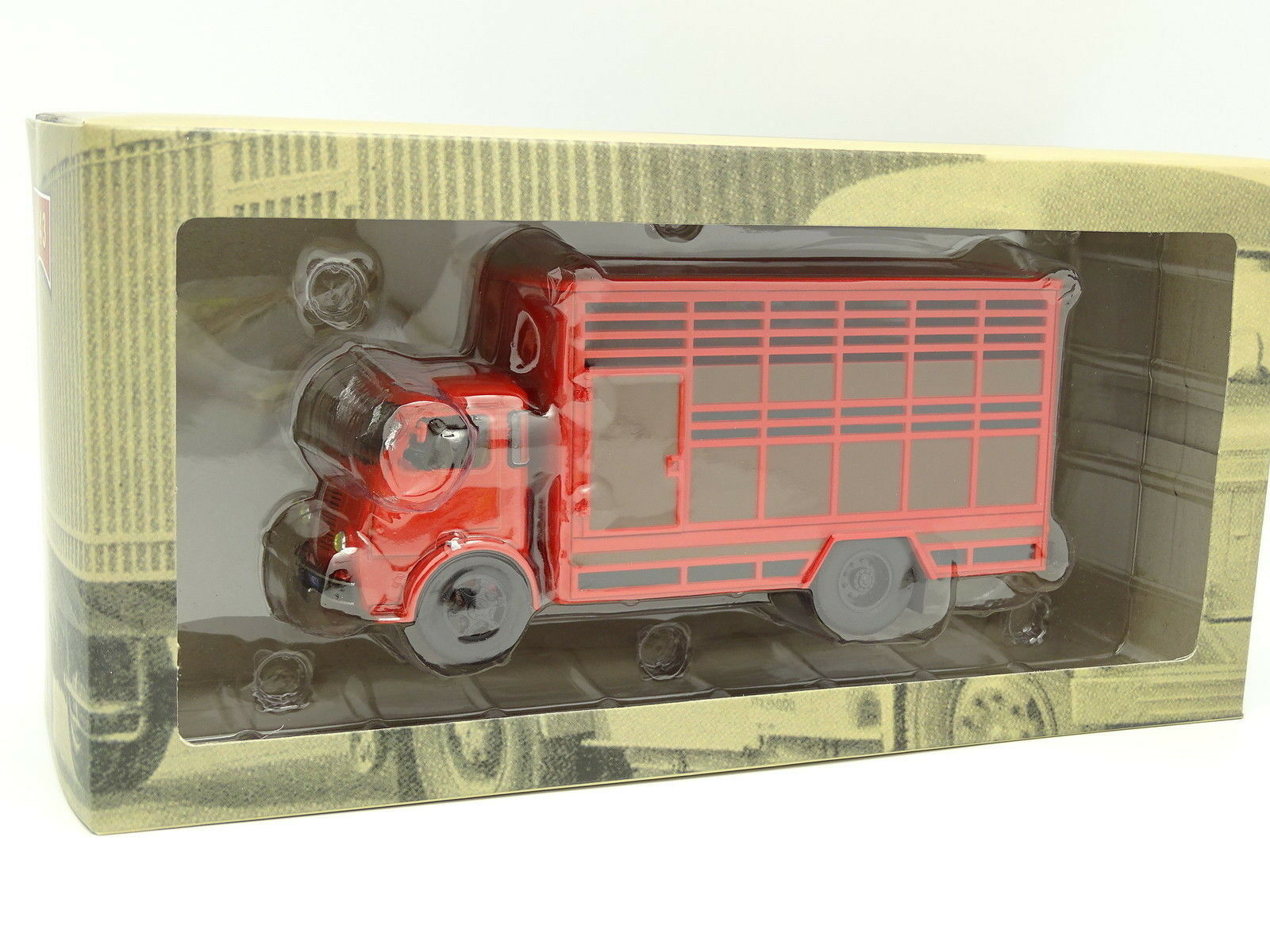 Ixo Lastwagen ehemalige 1 43 - Berliet GLB Vieh Rot Rot Rot 1955 8db3d8