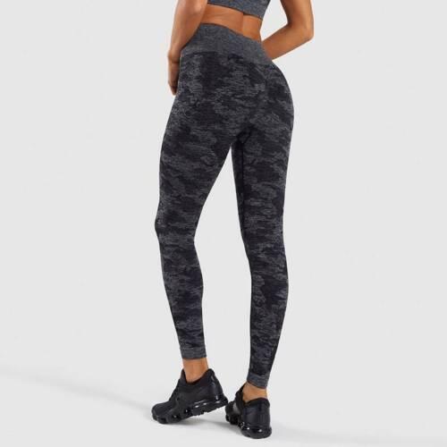 Women Seamless High Waist Yoga Gym Long Sleeve Top+Leggings Sports Fitness Pants