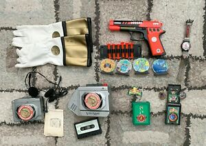 Bandai Mighty Morphin Power Rangers mixed lot collectibles used