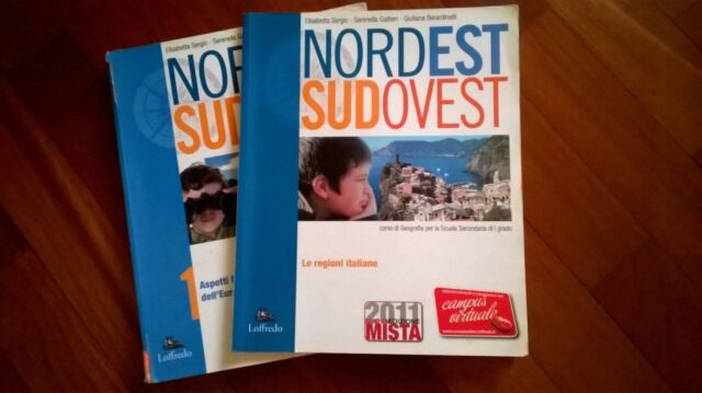 ISBN 9788875644406 NORDEST SUDOVEST 1 + LE REGIONI ITALIANE+ CARTINA GEOGRAFICA
