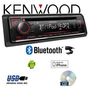 Kenwood-KDC-BT520U-Bluetooth-CD-MP3-USB-Autoradio-KFZ-Radio-PKW-Auto