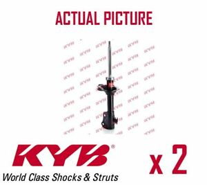 2-x-FRONT-AXLE-SHOCK-ABSORBERS-PAIR-STRUTS-SHOCKERS-KYB-OE-QUALITY-333368