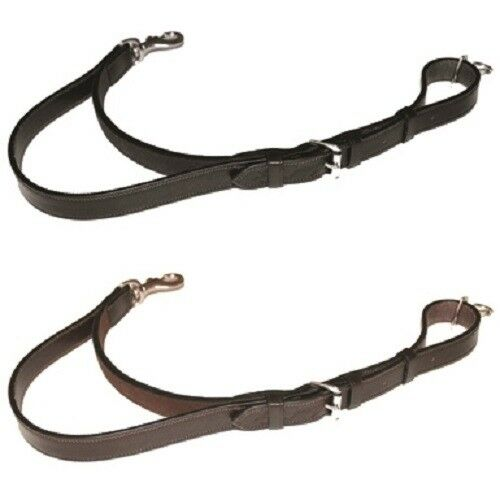 Mark Todd Martingale Standing Attachment leather featuring an elasticated insert