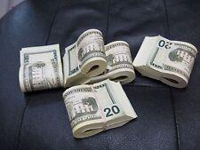 Realistic Prop Money Movie Motion Picture $20 Bills Bundle $2000 BEST PRICE