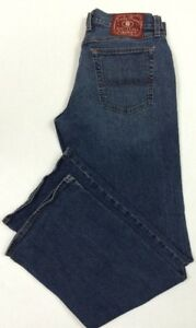 Women-039-s-Lucky-Brand-Dungarees-Size-33x32-Blue-Denim-Flare-Jeans