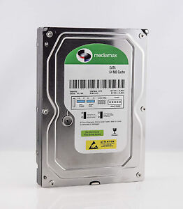 "Mediamax 3.5"" interne Festplatte HDD SATA III für Desktop, Backup, RAID, Gaming"