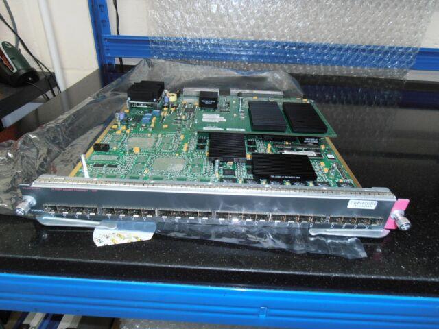 Cisco WS-X6724-SFP 24-port SFP Module avec WS-F6700-CFC carte fille