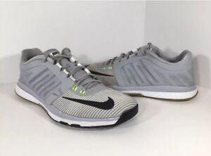 7d9b9540b37b Nike Zoom Speed TR Training Grey Black White Mens Size 8 804401-007 ...