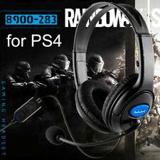 Kabelgebundene Gaming-Headset-Kopfhörer mit drehbarem Mikrofon für PS4 Xbox One-
