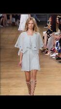 Chloe Mint Green Runway Eyelet Dress 36