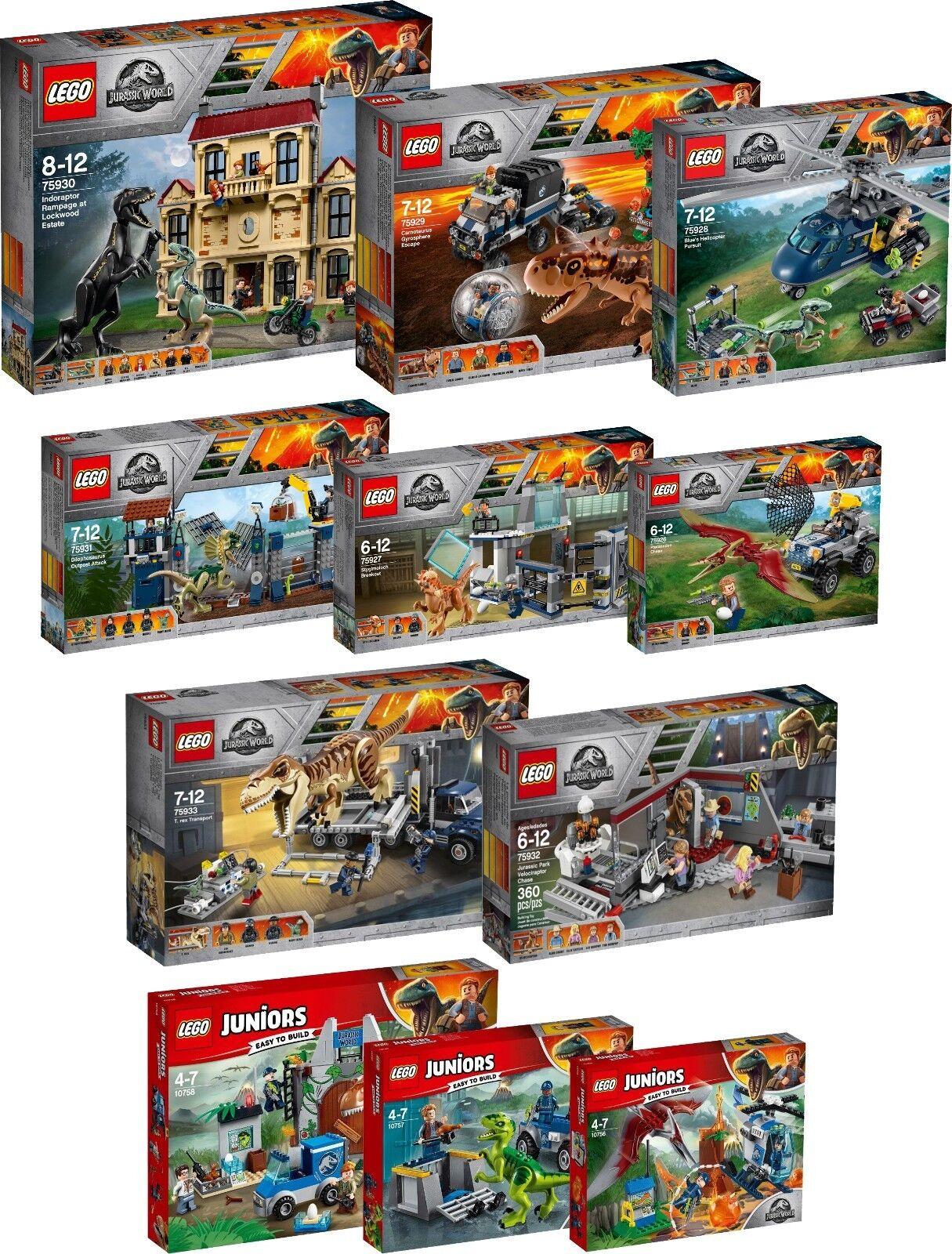 Lego Jurassic World 75931 30 33 32 75929 75928 75927 75926 10758 10757 56 n6 18