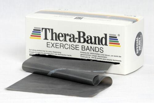 TheraBand 3 M speciale fortemente nero originale Thera Band Banda di esercitazione