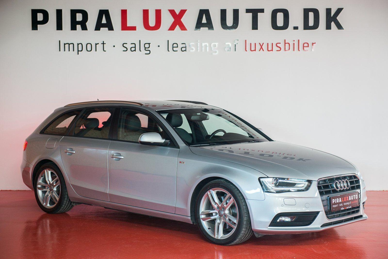 Audi A4 3,0 TDi 204 S-line Avant Multitr. 5d - 359.900 kr.