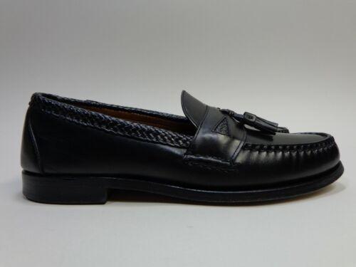 Mocassins Edmonds Maxfield Allen noir 12 cuir B en à pampilles taille sdhtQrC